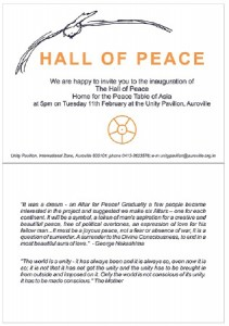 Hall of Peace poster