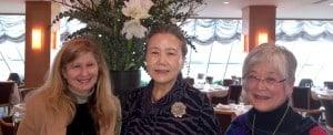 Mrs. Ban, Mira Nakashima and Miriam