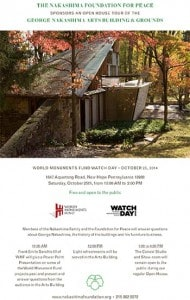 WORLD MONUMENT FUNDWATCH DAY 10-25-14