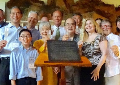 Nakashima: National Historic Landmark Plaque Dedication and 110th Birth Year Celebration June 14 • 2015