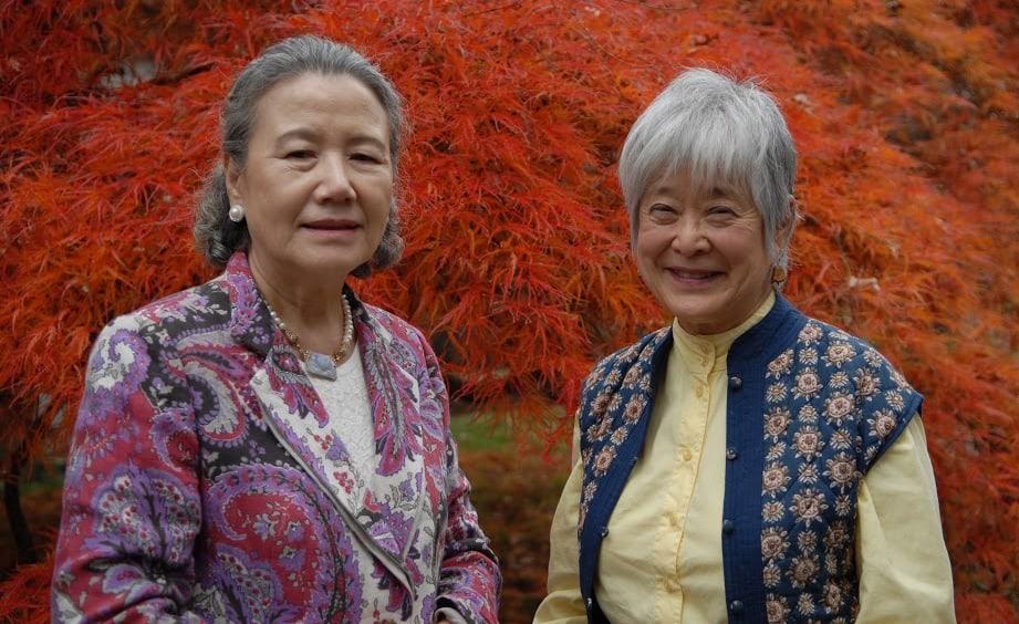 Mme. Ban Soon-Taek and Mira Nakashima